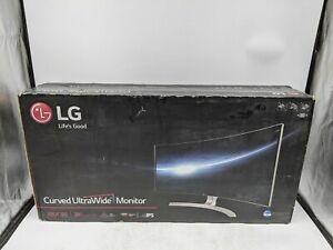 "LG 38"" Curved UltraWide Monitor 38UC99-W IPS LED 21:9 5ms 3840 x 1600 -JL0614"