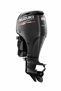 NEW SUZUKI DF90A LONG SHAFT OUTBOARD MOTOR BOAT ENGINE