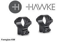 Hawke 22108 30 mm ringmontage High for 9-11mm Rail, zielfernrohr-halterung