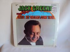 COLLECTIBLE LP ALBUM JACK GREENE UNOPENED