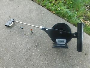 CANNON ECONO RIGGER DOWNRIGGER W/BASE,ROD HOLDER,COUNTER,INSTRUCTIONS