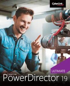 CyberLink PowerDirector 19 Ultimate, Download, Windows