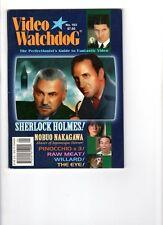 WoW! Video Watchdog #103 Raw Meat! Willard! The Eye! Bangkok Haunted! Pinocchio!