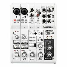 Yamaha AG06 6-channel Mixer With USB Audio Interface