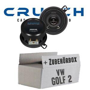 VW Golf 2 Amaturenbrett Crunch Lautsprecher Golf-II Volkswagen EINBAUSET   NEU