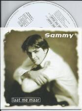SAMMY - Laat me maar CD SINGLE 2TR CARDSLEEVE 1997 (FONNY DE WULF)