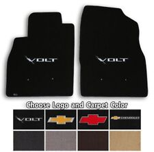 Chevrolet Volt 2pc Classic Loop Carpet Floor Mats - Choose Color & Logo