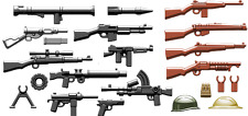 Brickarms Allies Weapons Pack Lego Minifigure Accessories and Weapons