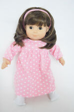 "15"" Doll Clothes Girl Doll Pink Star Nightgown for 15"" Girl doll"