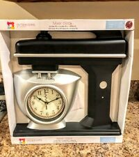 Vintage Retro Battery Operated Mixer Wall Kitchen Clock New In Box