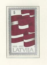 LATVIA # 353-354 MNH  75TH ANNIVERSARY INDEPENDENCE 1993