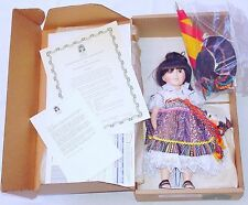 """Robin Woods Collection MARIA SANCHEZ `75 14"""" Doll Limited Ed. Nr.401 MIB`93 RARE"""