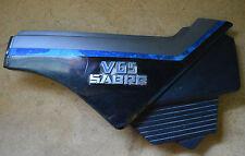 84 85 Honda Sabre V65 V 65 Right Side Cover Panel OEM Blue Black 83600-MB3-0000
