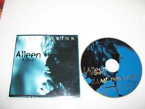 BERT HEERINK - ALLEEN ( ALONE ) 2tr. CD SINGLE 1996