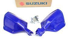 New Genuine Suzuki Hand Guard Set 03 04 DRZ400 S OEM Brush Guard Blue #K02
