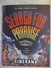 1957 Search For Paradise Cinerama Booklet