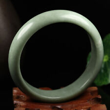 Jade Bangle Bracelet K3648 61mm Chinese 100% Natural Green