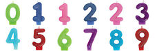 GLITTER NUMBER CANDLE Birthday Party Cake Topper Party Supplies 0 to 9