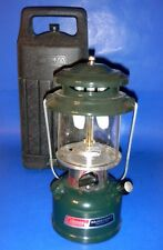 Coleman 288A Adjustable Two-Mantle Lantern 3-1993 w/Hard Case