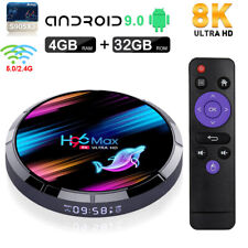 2020 H96 MAX X3 8K Android 9.0 4+32G Dual WIFI BT TV BOX Quad Core Home Media US