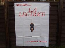AFFICHE CINEMA (120x160) LA LECTRICE MIOU-MIOU MICHEL DEVILLE (A288)