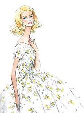 """Robert Best BARBIE print """"Daisy Dress"""""""
