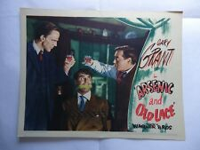 FRANK CAPRA+CARY GRANT/ARSENIC AND OLD LACE/ UL1/  U.S.lobby card