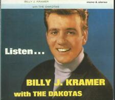 CD: BILLY J. KRAMER w/The Dakotas - Listen...  (mono/stereo)
