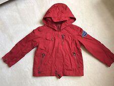 CATIMINI Rouge Garçons printemps-été veste 6 ans zip à capuche