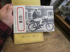 Harley NOS 1968 M-125 Rider Handbook 99476-68