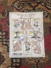 Feuillet n° 4447 : Bourse aux timbres de 2010 - oblitéré cachets ronds