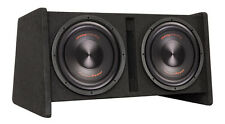"""Precision Power PPi SNBX-212 Dual 12"""" Amplified Vented Subwoofer Enclosure Box"""