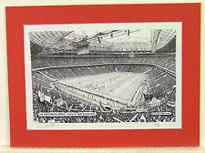 Ajax Amsterdam Arena. Limited Edition Stadium Art Print by Stuart Herd