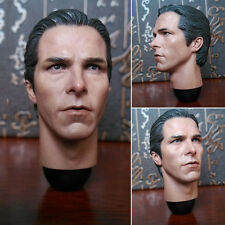 HOT FIGURE 1/6 HEAD SCULPT Christian Bale HEADPLAY Batman dark knight Wayne