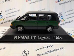 Renault Espace - 1984  1:43 eme    avec boite plexi  (  neuf  )