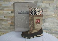 NAPAPIJRI Gr 41 Stiefel Stiefeletten Boots Schuhe waterproof beige neu UVP199€