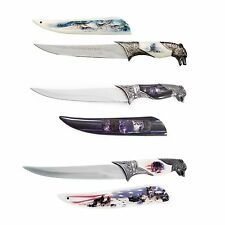 Wolf Dagger 3pc American Flag Knife Collector Set