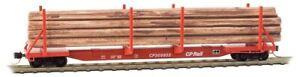 N MicroTrains 11500052  65'  Log Car  CP Canadian Pacific   Rd # 305603