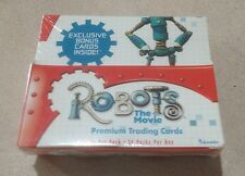 2005 Inkworks Robots The Movie - Factory Sealed Box of 24 Packs