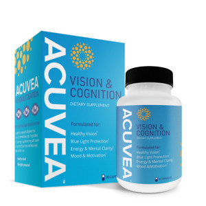 Acuvea Vision and Cognition Healthy Eyes Blue Light Protection Energy and Mood