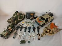 Lanard The Corps - 80s & 90s Action Figure Lot of 17 - plus Vehicles Weapons
