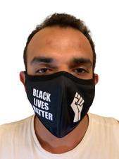 BLACK LIVES MATTER -Handmade-Reuseable-Washable Cloth Mask (poke)-In Stock NY
