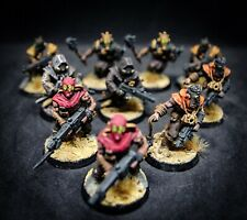 10 Chaos Space Marine Cultists - Warhammer 40000 full painted