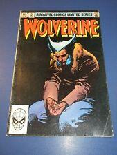 Wolverine Limited Series #3 Bronze age Frank Miller VGF