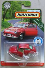 Matchbox Road Trip w/ moving parts '65 VOLKSWAGEN TYPE 3 FASTBACK red