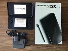 Nintendo DS Lite Black Console Handheld System NDS BRAND NEW
