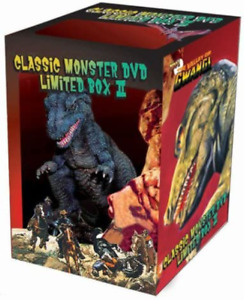 Ray Harryhausen Classic Monsters DVD Limited Box II 2 movies & Gwangi Figure
