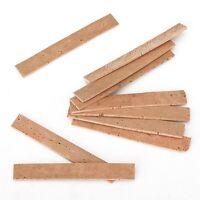 New Natural Clarinet Neck Cork Sheet 2mm Pack of 10Pcs