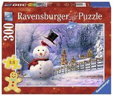RAVENSBURGER CHRISTMAS PUZZLE*300 TEILE*THE MAGICAL SNOWMAN*WEIHNACHTEN*RARITÄT