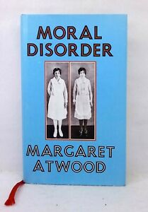 1st print Moral Disorder by Margaret Atwood exc cond used hardcover dust jacket